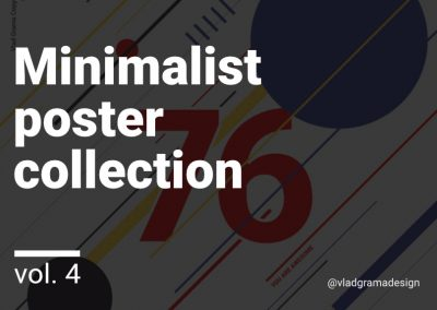 Minimalist poster collection – Experiments Vol. 4