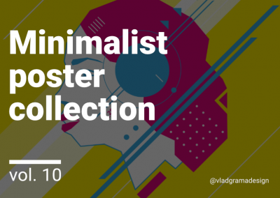 Minimalist poster collection – Experiments Vol. 10