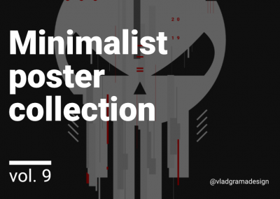 Minimalist poster collection – Experiments Vol. 9